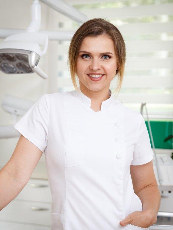 Vaikų gydytoja odontologė Laura Mazecaitė -Vaitilavičienė