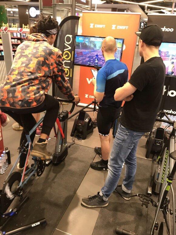 """""""Elektromarkt"""" ir garsiausi Lietuvos dviratininkai kviečia įveikti jų parengtus iššūkius / FOTO: """"Elektromarkt"""""""