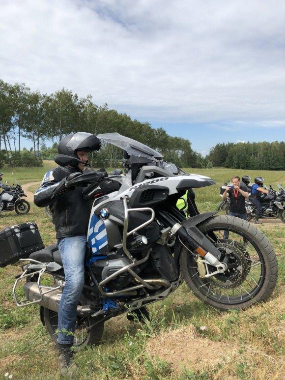 """BMW Motorrad"" surengė ""enduro"" mokymus"