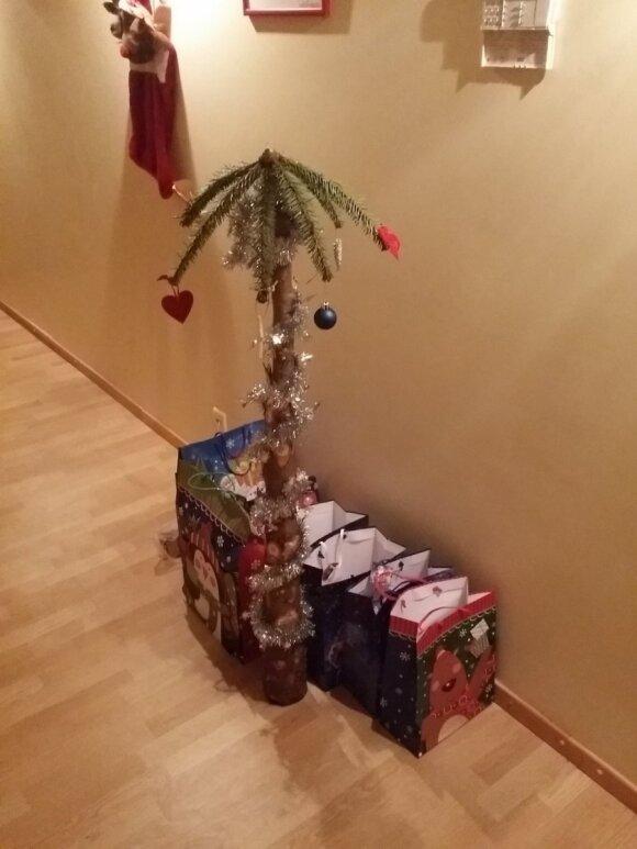Vilnietis šeimai iškrėtė žiaurų pokštą: kokios Kalėdos, tokia ir eglė bei dovanos