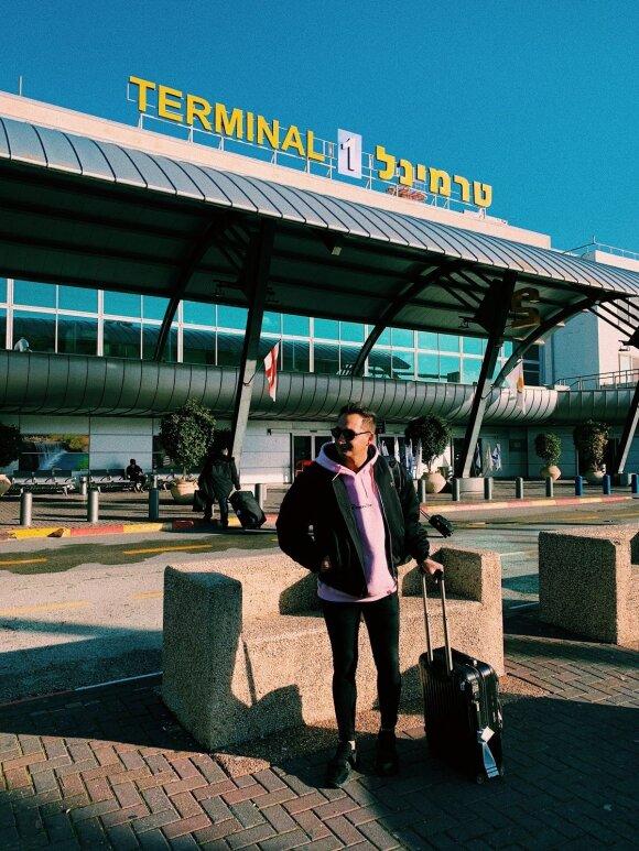 Tel Avivo oro uoste