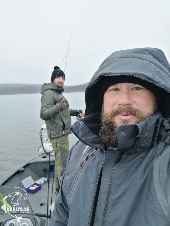 Akimirka iš žvejybos Švedijoje