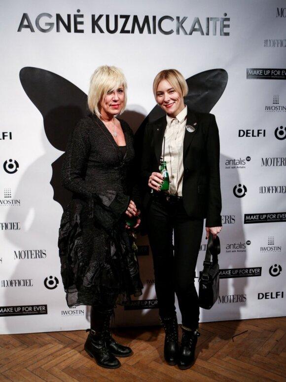 TV laidų vedėja Lidija Rasutis (kairėje) ir juvelyrė Jurga Karčiauskaitė-Lago