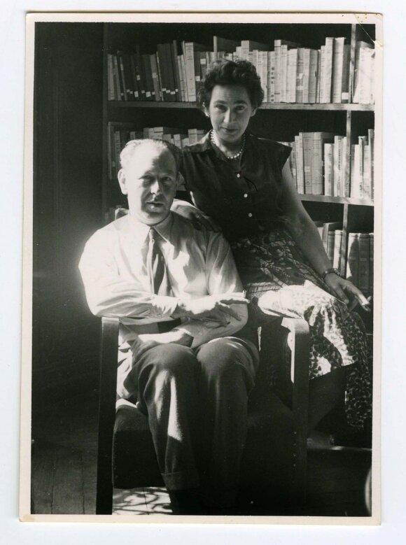 Zofija ir Zygmuntas Hertzai buvo ne tik artimiausi Jerzy Giedroyco draugai, bet ir jo bendražygiai