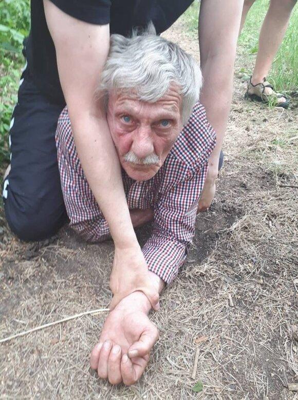 Nusikaltimo vietoje sučiuptas mažametės užpuolikas Vitalijus Muraveiko