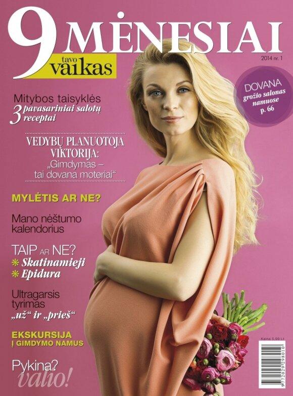 """Žurnalas """"9 mėnesiai"""" - geriausia naujiena būsimiesiems tėvams!"""