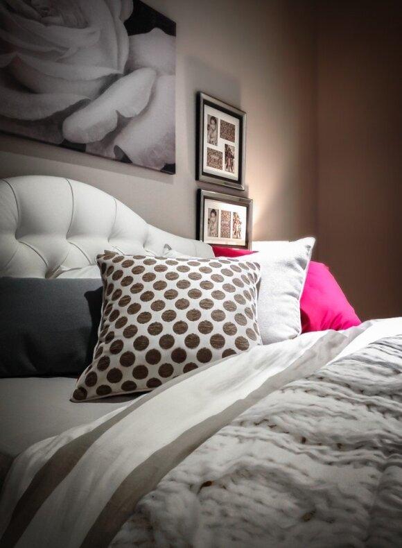 Svajonių miegamojo ABC: nuo tinkamos spalvų paletės iki lovos
