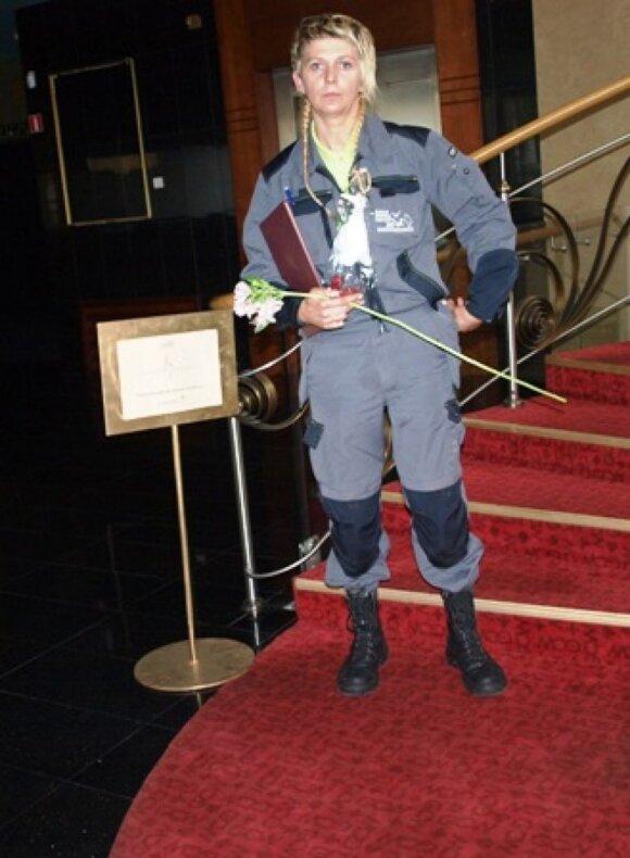 GGA vyr. specialistei - apdovanojimas už nuopelnus aplinkosaugoje