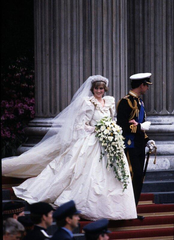 Princesė Diana ir princas Charles'as
