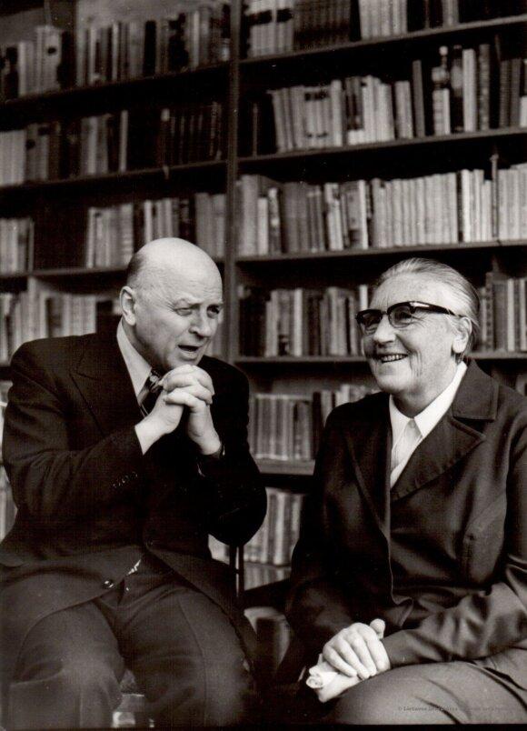 Juozas Baltušis ir Ieva Simonaitytė