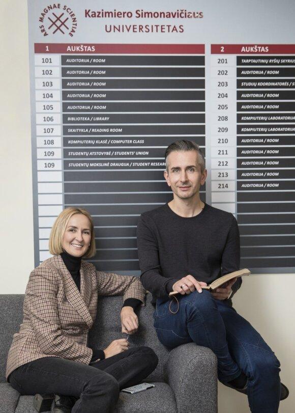 Arnoldas Remeika ir Laura Vagonė