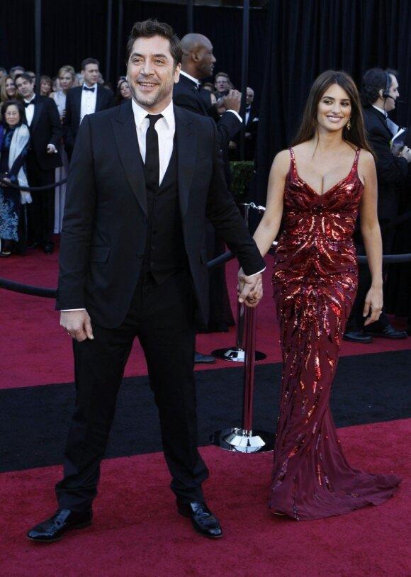 Javier Bardem ir Penelope Cruz