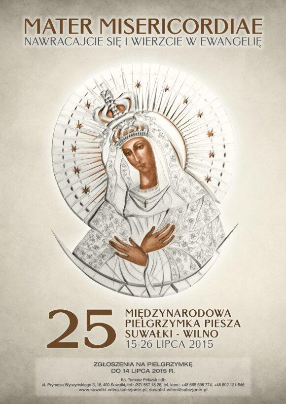 XXV Pielgrzymka Piesza Suwałki – Wilno