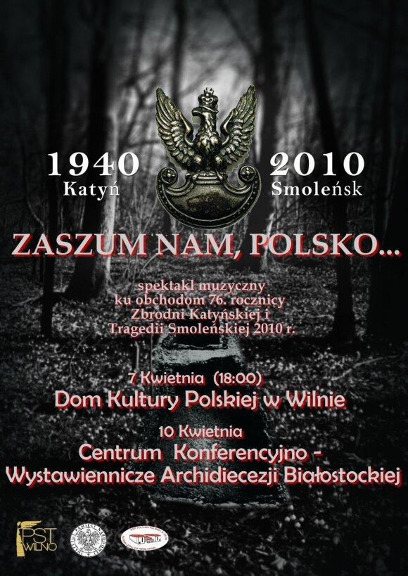 """Zaszum nam, Polsko..."""