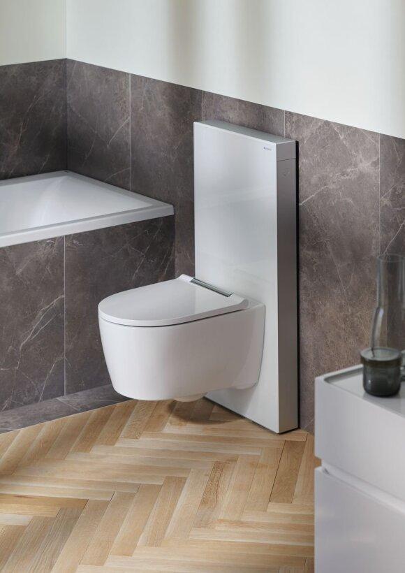Įsirengdami vonios kambarį lietuviai nebenori vien sanitarinio mazgo – šiuolaikiniai sprendimai stebina savo patogumu