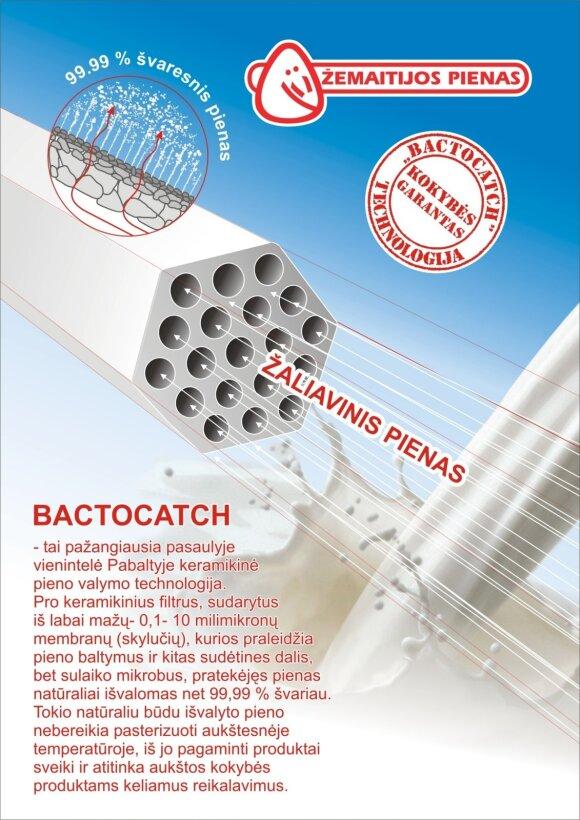 Bactocatch valymo principas