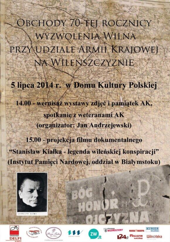 Stanisław Kiałka - legenda wileńskiej konspiracji