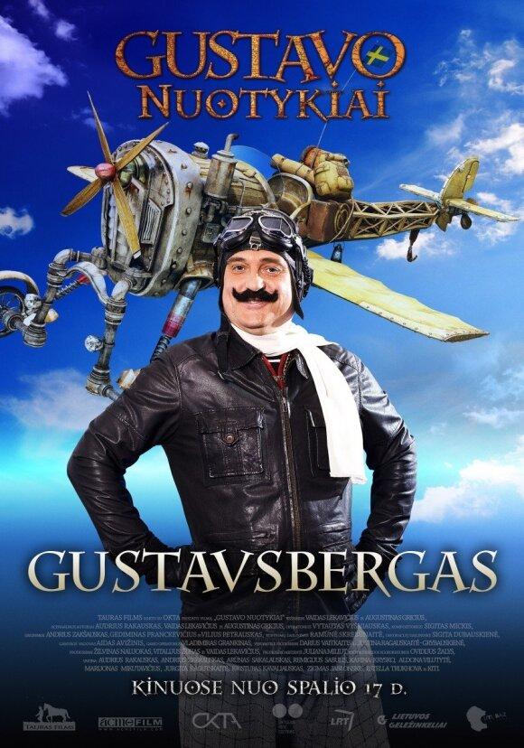 """Dėdė Gustavsbergas """"Gustavo nuotykiuose"""" skleis švedišką dvasią"""