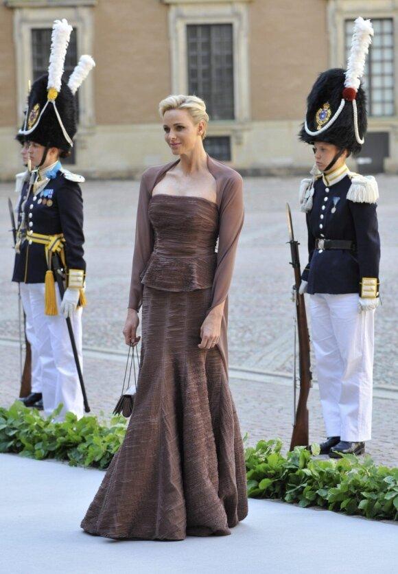 Ką nėščia Monako kunigaikštienė slepia nuo savo vyro
