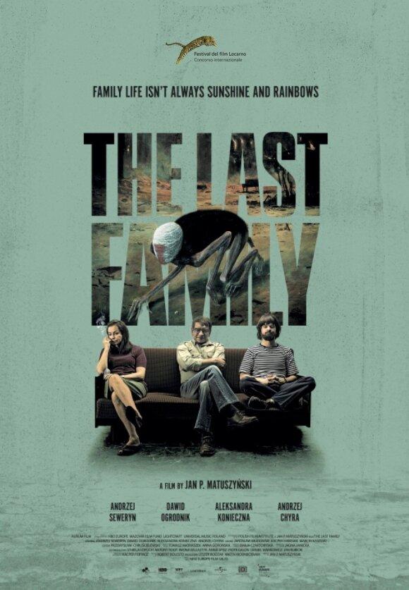 """Filmo """"Paskutinė šeima"""" plakatas"""
