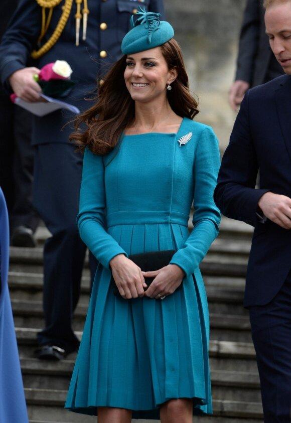 Kate Middleton laukiasi dvynukų?