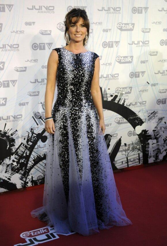 Kanados dainininkė Shania Twain