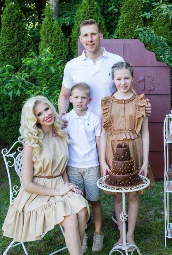 Ingos Stumbrienės dukters gimtadienis / Foto Alibi nuotr.