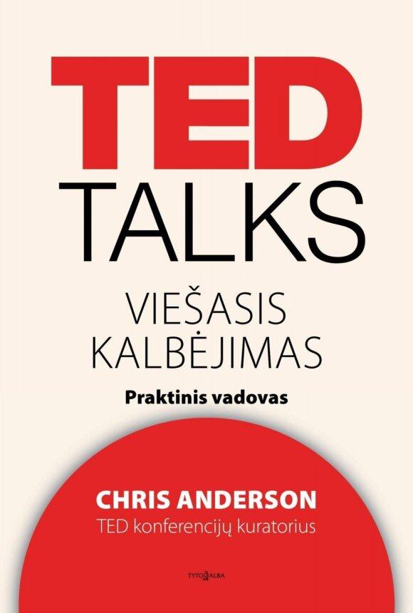 """Knyga """"TED TALKS: viešasis kalbėjimas"""""""