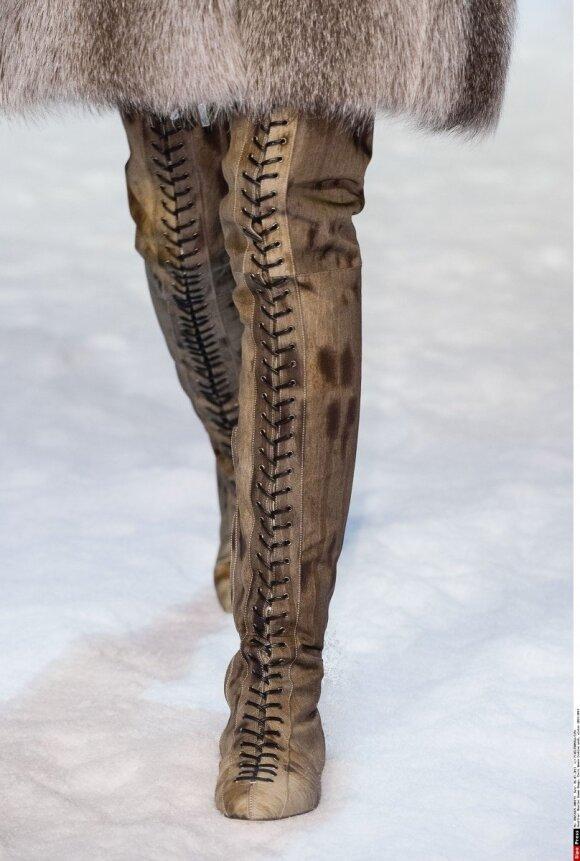 Mados tendencijos: batai rudeniui