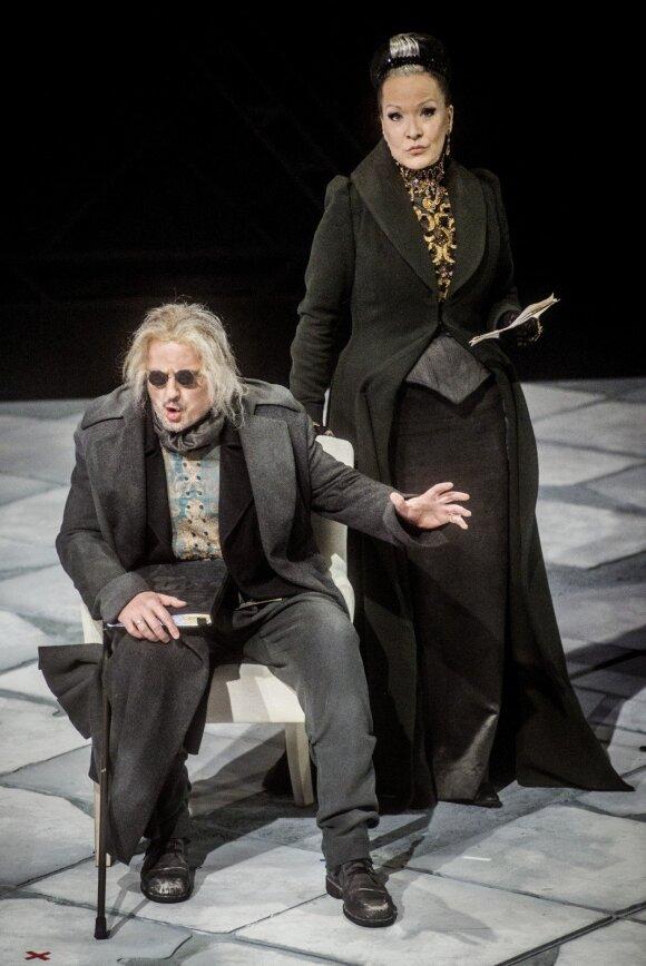 Arkelis – Tadas Girininkas, Ženevjeva – Jovita Vaškevičiūtė