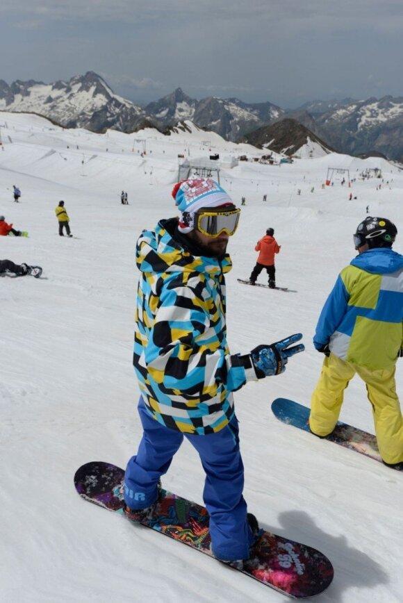 Valerij Gigevič patarimai besiruošiantiems slidinėti