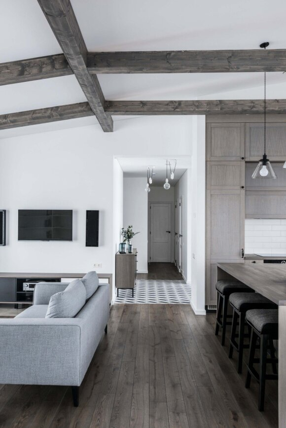 145 kv.m namas: jauki, rami ir harmoninga šeimos tvirtovė