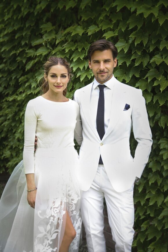 Olivia Palermo ir Johannes Huebl