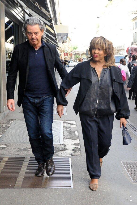 Tina Turner ir Erwinas Bachas