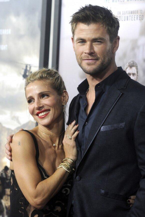 Elsa Pataky ir Chrisas Hemsworthas