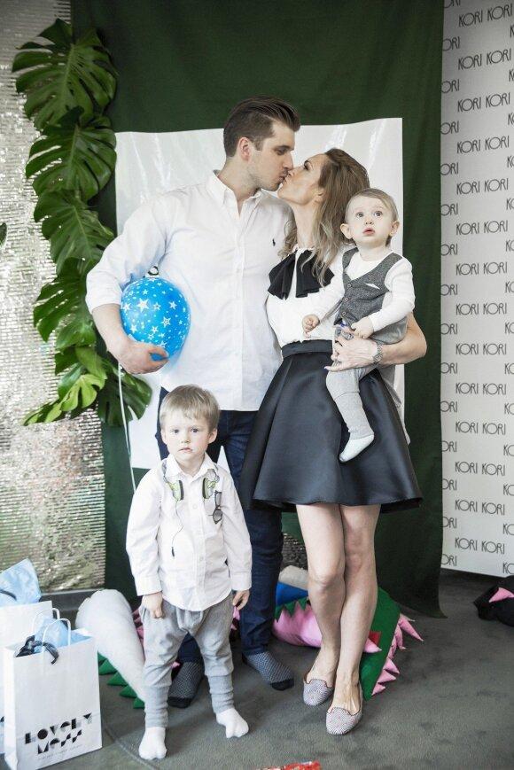 Dvigubą gimtadienį sūnums surengusi Goda Jokubaitienė dalijasi įspūdingos šventės akimirkomis
