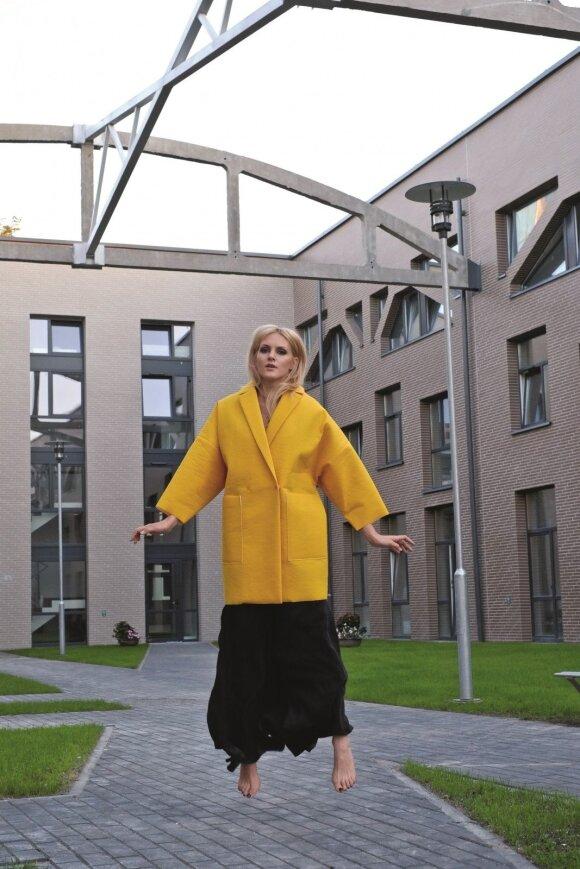 Stiliaus dosjė. Dizainerė E. Žiemytė: kartais mano kolegos stebisi, kaip apsirengusi ateinu į darbą