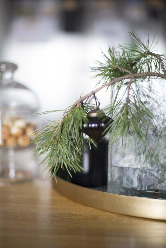 Interjero dizainerės patarimai, kaip namuose sukurti kalėdinę nuotaiką