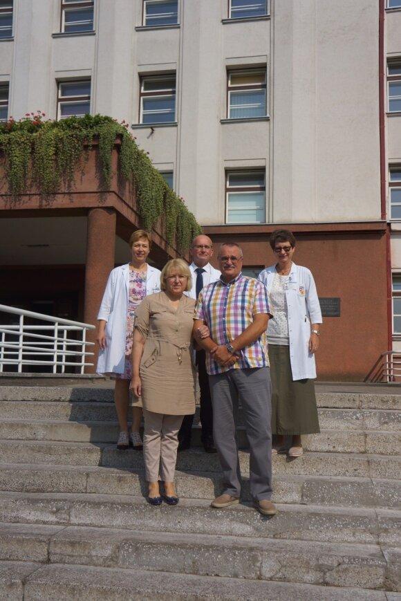 Šeima su gydytojais