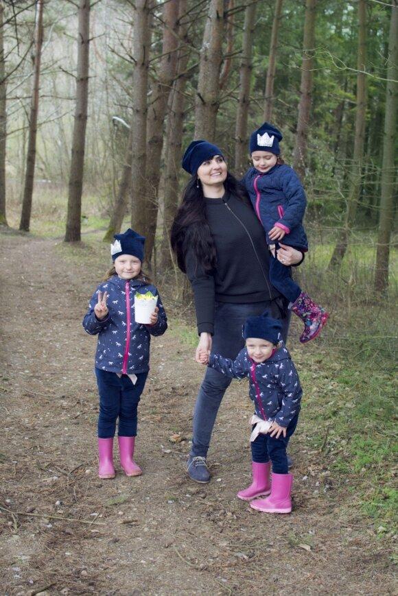 Ukmergiškė Dalia augina dvi anksčiau gimusias dukras: gyvenimas yra nesibaigianti pamoka