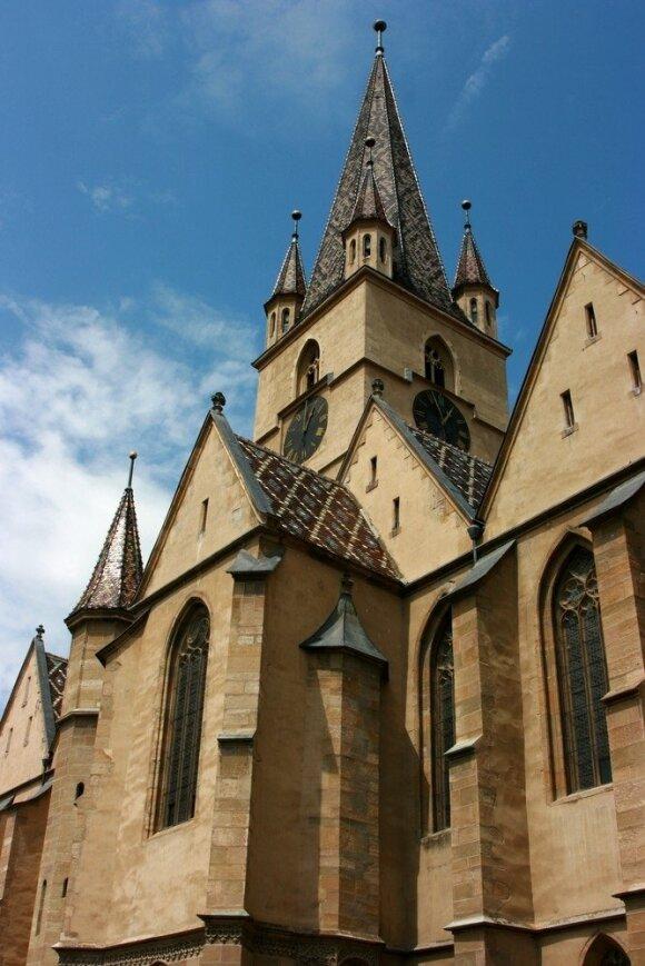 Grafo Drakulos skraistė paslėpė Rumuniją nuo turistų