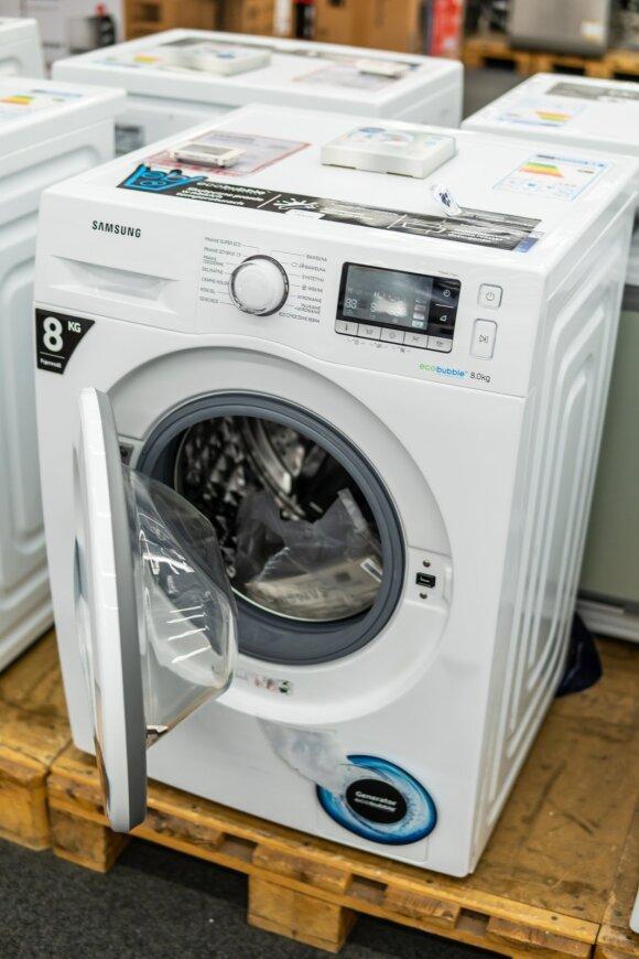 """Samsung"" skalbimo mašina"