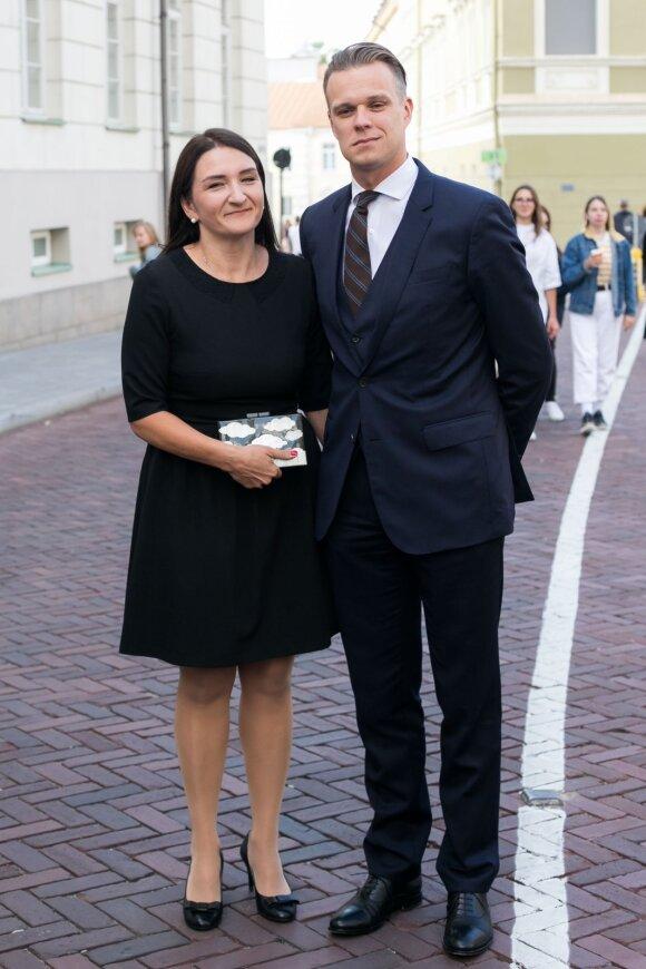 Gabrielius Landsbergis ir Austėja Landsbergienė