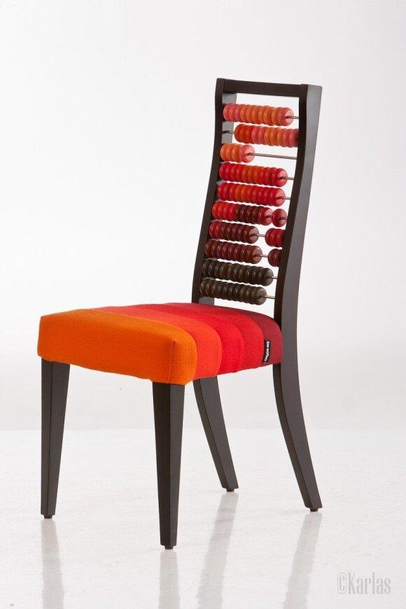 """Indra Marcinkevičienė. Vaikiška kėdė """"Eureka!"""""""