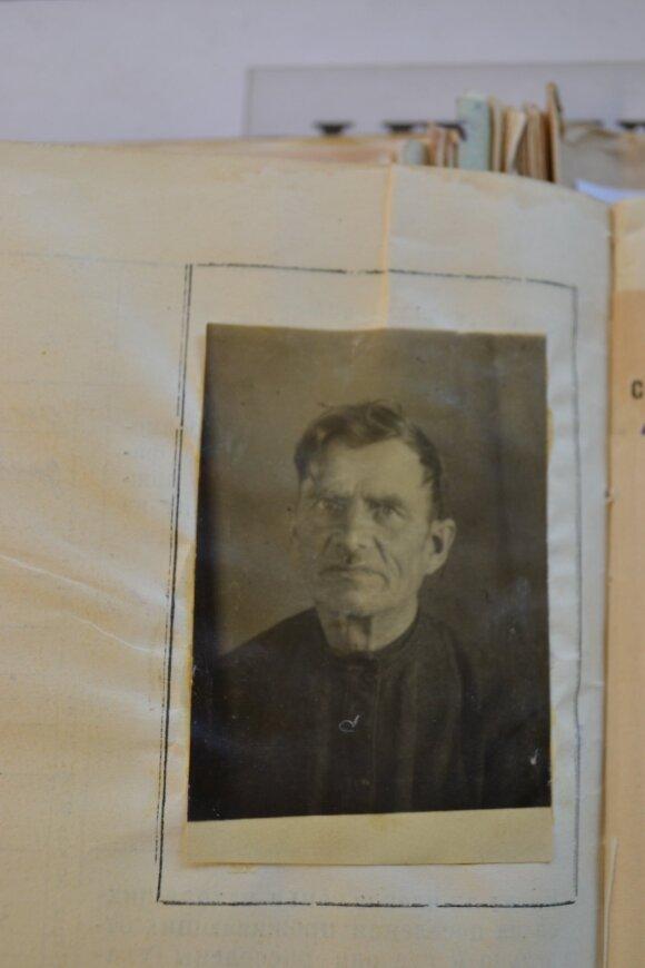 Pranas Kasperaitis Sibire 1951–1952 m. Nuotr. iš jo tremties bylos