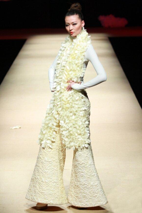 Li Xiaoyan kolekcija 2011 m. rudeniui