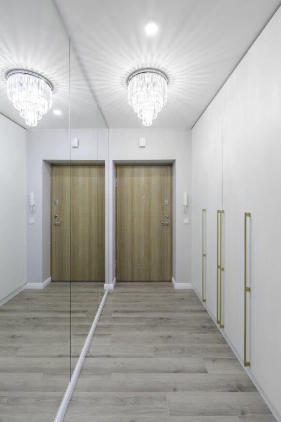 38 kv. m butas Šnipiškėse (Andriaus Elsbergo nuotr.)