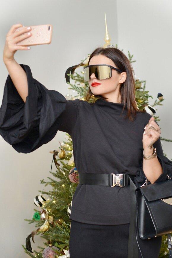 Garsios moterys jau atidarė kalėdinį sezoną