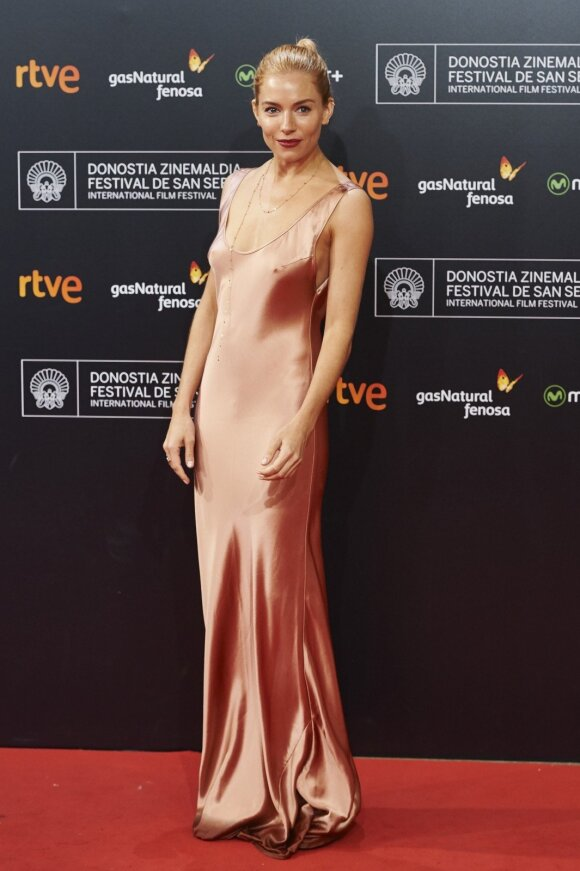 Aktorė Sienna Miller