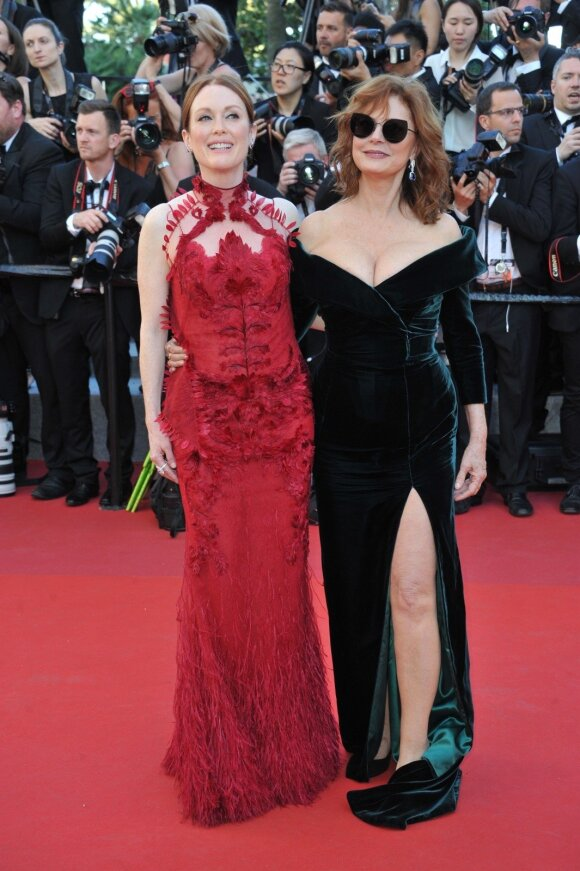 Julianne Moore  ir Susana Sarandon
